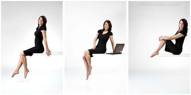 Kreatywny kobiecy portret biznesowy wykonany w ADStudio w Warszawie