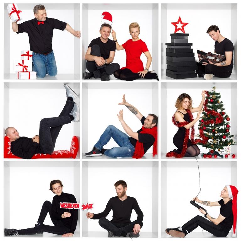 firmowe zdjecie świąteczne